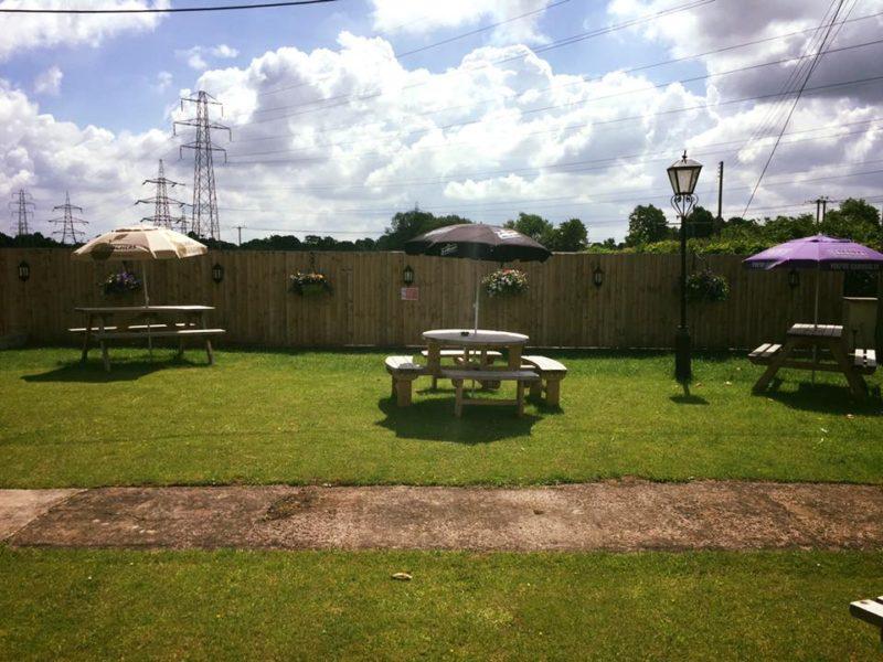 Our front beer garden