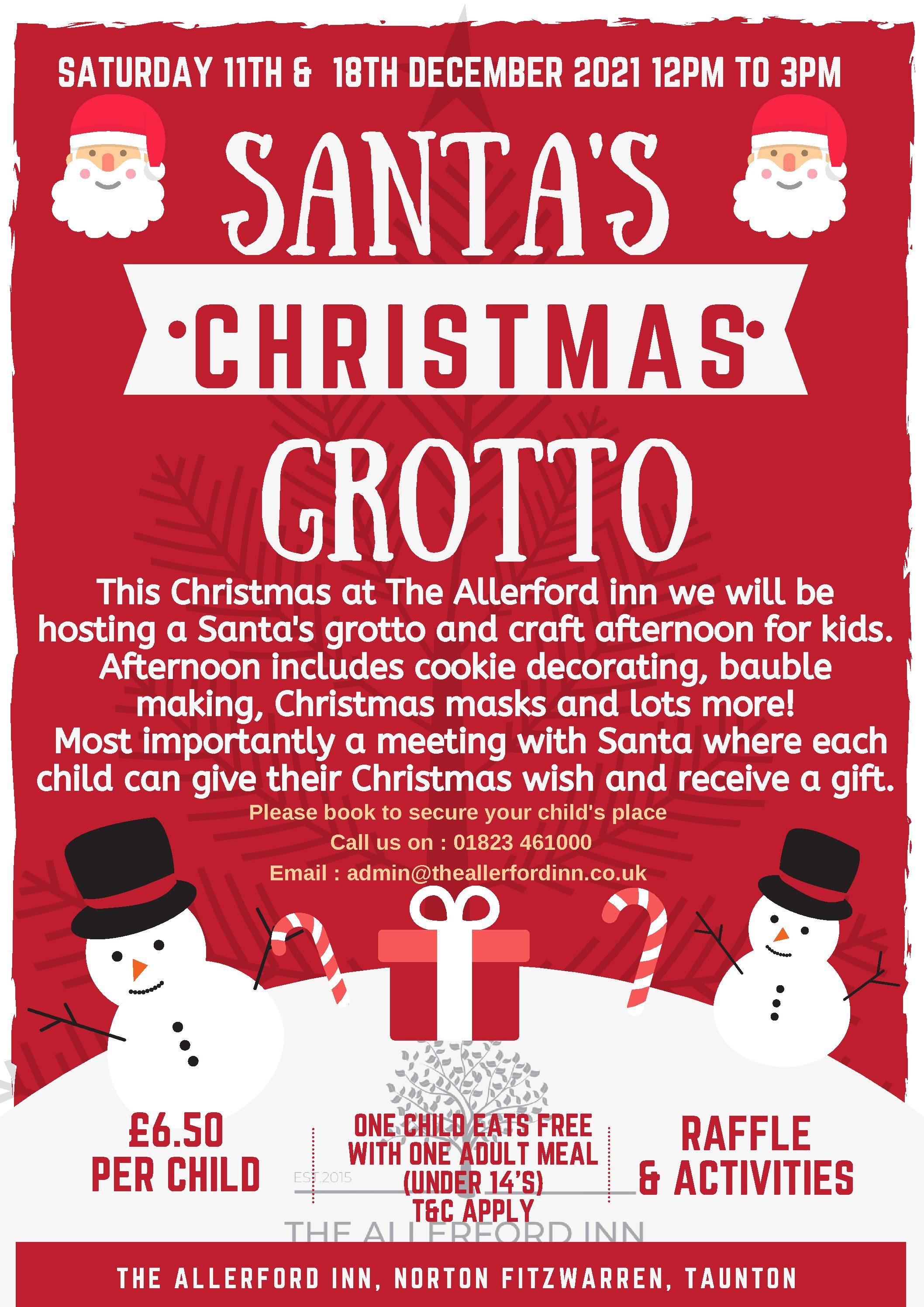 Santa's Grotto 2021 - Final