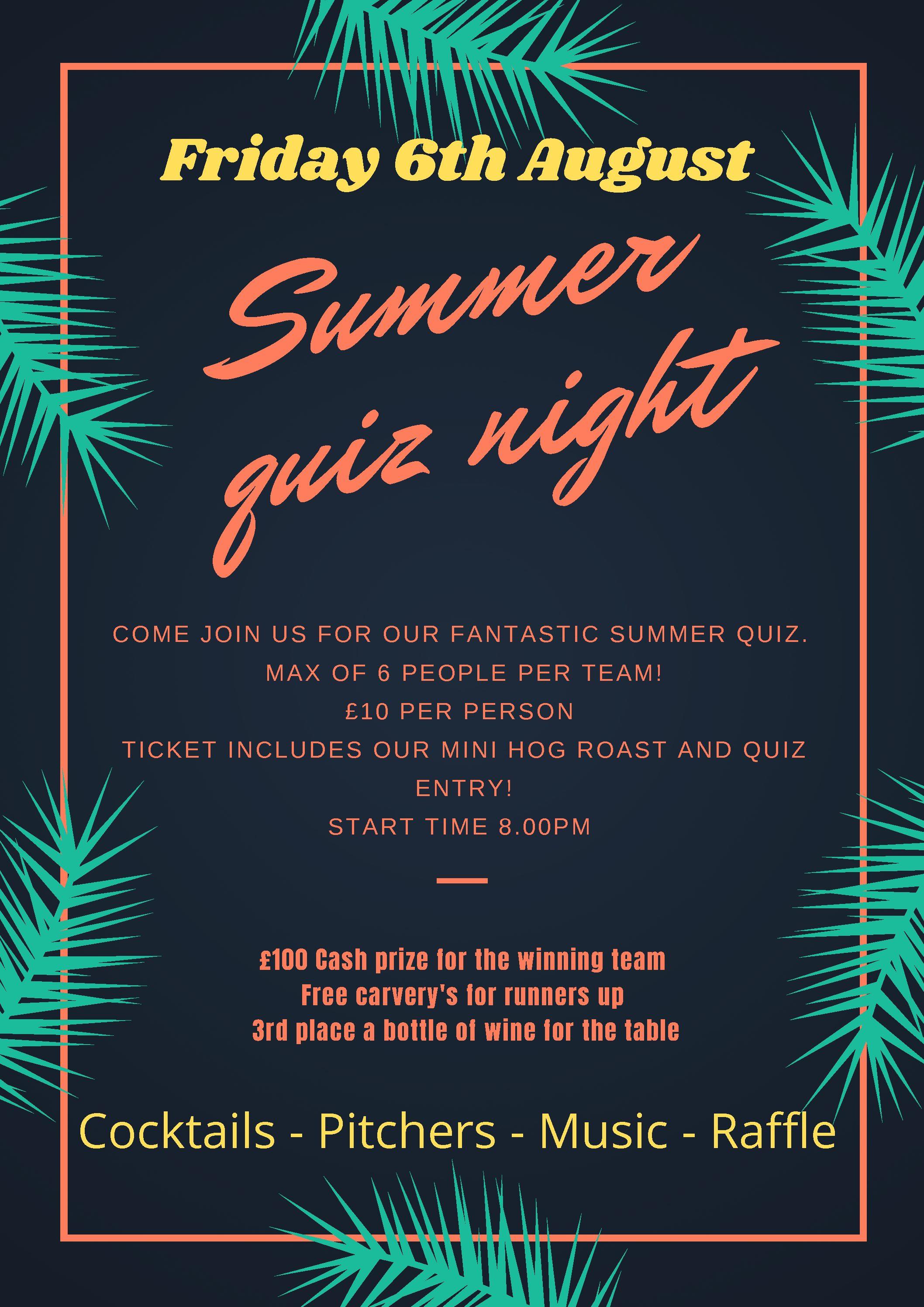 Summer quiz night. (1)
